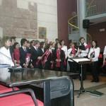 El coro de Bétera en plena actuación